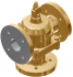 """2"""" Cast Iron Model BR Valve with PN10 (FF) Ends and Adjustable Override"""