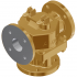 """3"""" Bronze Model BM Valve with Class 125 Ends and Lever Override"""