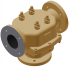 """4"""" Cast Iron Model BR Valve with PN10 (FF) Ends and Adjustable Override"""